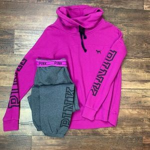Victoria's Secret PINK Sweatsuit tracksuit set